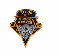 Shock Force 3-506 - Recon 101 patch BC Patch Cat. No. C5607