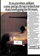 MEXICANA AIRLINES 1987 AS AIRLINES COME & GO BEEN GOING FOR 66 YRS B727-200 AD