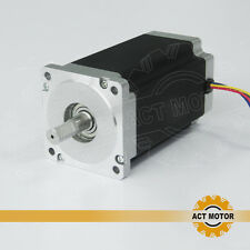 ACT bipolar nema34 stepper motor 151mm,12n.m,1700OZ /6.0A  34HS5460 for CNC