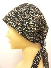 BE/22 HEAD COVER MOTORCYCLE RIDE CAP BANDANA HAIR SCARF WRAP BIKER TIGER UNISEX
