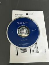 Microsoft Visio Professional 2013 - BRAND NEW - for 2 PC's (32-bit and 64-bit)