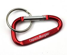 Captain Morgan USA Karabiner Schlüsselanhänger Key Chain Ring rot
