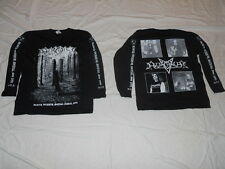 Azaghal -Official Logo - Black Terror Metal LONGSLEEVE XL SIZE NEW+++NEU+++