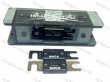 Sky High SMOKED 2/0 Dual ANL Plexiglass Fuse Holder W/ (2) 250 Amp ANL Fuses