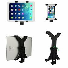 Tripod Mount Adapter Universal Tablet Clamp Holder Tabletop Stand Travel Selfie