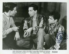 JOHN CASSAVETES JAMES WHITMORE  SAL MINEO CRIME IN THE STREETS VINTAGE PHOTO #3