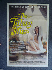 TIFFANY MINX Original 1980s One Sheet Movie Poster Sexy Samantha Fox