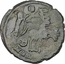CONSTANTINE I the GREAT Cult  Heaven Horse Chariot Ancient Roman Coin i42382