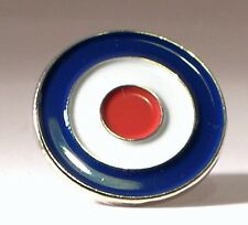 R.A.F. Roundel (version 1). Collectable pin badge. MODs. Airforce
