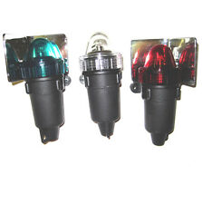 LED BULBS Emergency Set Of Three Battery Operated Navigation Lights