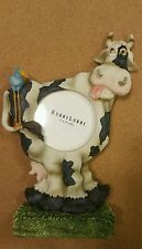 """HOBBY LOBBY 8"""" Whimsical Cow picture frame."""