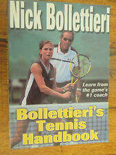 Bollettieri's Tennis Handbook Nick Bollettieri - Andre Agassi Boris Becker PB GC