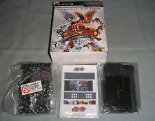 PS3 Street Fighter X Tekken Special Edition Box+SEALED Coin Bank ONLY - NO GAME!