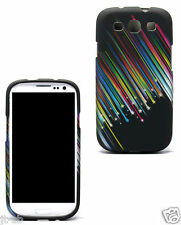 Star Cover Rubber Feel Hard Case For Samsung Galaxy S3 SIII SCH-R530,R