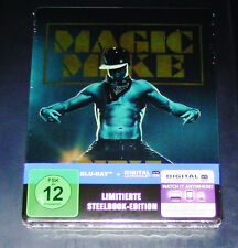MAGIC MIKE XXL STEELBOOK LIMITIERTE EDITION BLU RAY SCHNELLER VERSAND NEU & OVP