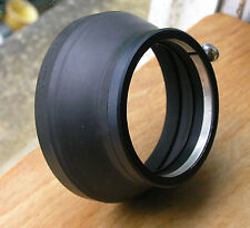 later Canon Lens hood    S-60    rubber clamp on over 58mm