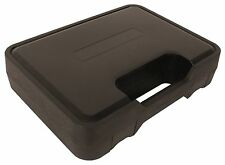 BLACK PLASTIC SINGLE PISTOL CASE 25 X 18 X 7