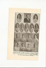 Cardinals 1907 Full Team Picture Shad Barry Ed Konetchy Pug Bennett Bugs Raymond