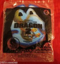 McDonald's How To Train Your Dragon 2 Zippleback Toy #6 2014