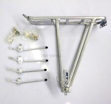 Fahrrad Gepäckträger aus ALU mit Federklappe für 24-28 Zoll Räder
