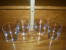 Schott Zwiesel Paris Crystal Bar ware 4 Old Fashioned Juice water GLASSES NEW