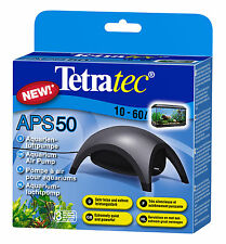 Tetra Aquarienluftpumpe APS 50 schwarz NEU & OVP