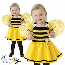 *Baby Toddler Girls Little Stinger Bumblebee Bee Bug Fancy Dress Costume Wings*