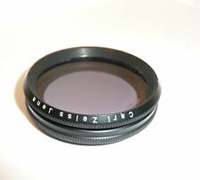 "CARL ZEISS JENA / 49mm POLARIZING FILTER ""BERNOTAR M49"" POLARIZING FILTER LINEAR"
