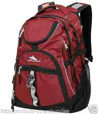 "NEW High Sierra Access 17"" Laptop Computer Notebook Travel Backpack Bag RED"