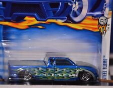 Hot Wheels STEEL FLAME 2002 First Editions Custom Show Truck Very Nice HTF