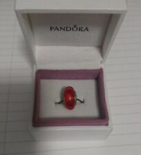 Pandora Red Triangle Glass Murano - 790639