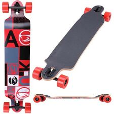 "Pro Longboard Complete 41"" x 9"" Cruiser Speed Skatebaord Canadian Maple Downhill"
