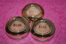 MILANI BELLA GEL POWDER EYESHADOW #31 DOLCI METALLIC/SEALED/NEW LOT OF 3