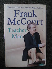 Signed First Edition,First Impression Teacher Man by Frank McCourt