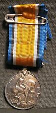 British War Medal 1914-1918 Great Britain  - Name of the Awarded on The Edge