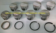 Speed Pro/TRW Chevy 454 LS6 30cc Dome Coated Forged Pistons+MOLY Rings Kit +060