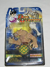 Duel Masters Fear Fang Action Figure with bone smash attack. New on card 2003