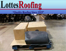10' x 10' BLACK  60 MIL EPDM RUBBER ROOFING BY THE LOTTES COMPANIES