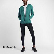 Nike Sportswear Tech Fleece Women's Jacket L Green Black Gym Casual Training