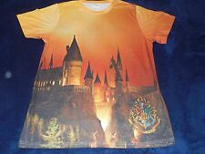 Harry Potter Castle Draco Dormiens Nunquam Universal Orlando T-Shirt Adult Large