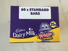 Cadbury Dairy Milk Freddo Caramel Box of 60, 19.5g Bars, Perfect for Party Bag