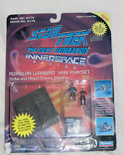 FACTORY ERROR Star Trek Mini figure playset.Borg Cube / Romulan Warbird. Rare