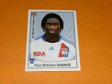 218 PAPE DIAKHATE OLYMPIQUE LYON OL GERLAND PANINI FOOT 2011 FOOTBALL 2010-2011