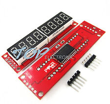 Red MAX7219 8-Digit LED Display Module Digital Tube for arduino