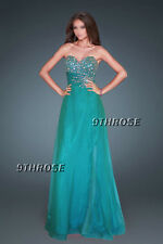 GLAM UP TO IMPRESS! BEADED FORMAL/EVENING/PROM/BRIDESMAID DRESS; GREEN AU18/US16