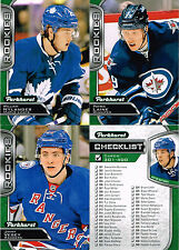 2016-17 Parkhurst RC singles #331-400 YOU CHOOSE - Nylander, Laine, Matthews CL+