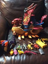 Fisher Price Imaginext Serpent Pirate Ship with Figures,Sea Serpent, 16 PC.