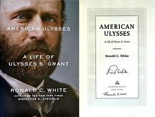 Ronald C White~PERSONALLY SIGNED & DATED~American Ulysses~1st/1st + Photos!