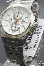 EF-546D-7A Casio White Men's Watches Edifice Chronograph Analog Stainless Steel