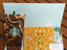 Starbucks THAILAND 2017 Hot Summer and Ice Coffee gift cards